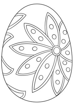 fancy easter egg coloring page from easter eggs category select from 24652 printable crafts of - Egg Coloring Sheet