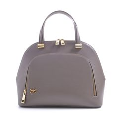 CARBOTTI 1394 - Woman Leather Handbag LHASA RUGA taupe - http://carbotti.it/en/product/carbotti-1394-woman-leather-handbag-lhasa-ruga-taupe/