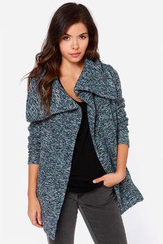 Jack by BB Dakota Renner - Blue Coat - Wool Coat - $83.00