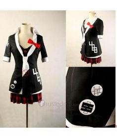 <3 Dangan ronpa Trigger Happy Havoc Junko Enoshima Cosplay Costume Prints Version - Anime Cosplay :D -->> http://www.trustedeal.com/Danganronpa-Trigger-Happy-Havoc-Junko-Enoshima-Cosplay-Costume-Prints-Version_p140124.html