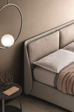 Modern and Leather Beds - Ditre Italia Luxury Bedroom Design, Master Bedroom Interior, Small Room Bedroom, Home Bedroom, Bedroom Decor, Sofa Design, Furniture Design, Cama Industrial, Bed Designs With Storage
