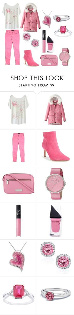 """""""Untitled #62"""" by mselim ❤ liked on Polyvore featuring J Brand, Sam Edelman, Marc by Marc Jacobs, NARS Cosmetics, GUiSHEM, Amanda Rose Collection and Kobelli"""