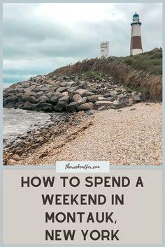 Best Vacations, Vacation Trips, Vacation Ideas, Weekend Trips, Weekend Getaways, Montauk Lighthouse, Road Trip With Kids, Girls Getaway, Road Trip Hacks