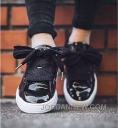 http://www.jordannew.com/puma-suede-basket-heart-black-cheap-to-buy.html PUMA SUEDE BASKET HEART BLACK CHEAP TO BUY Only $70.00 , Free Shipping!