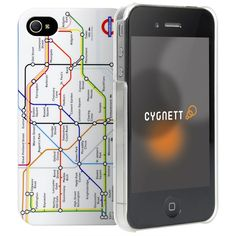 TfL Shop | Tube map hard case for iPhone 4 and 4S