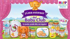 Sorteos diarios de alimentos bio y regalos para tu bebé #BabyClubHIPP