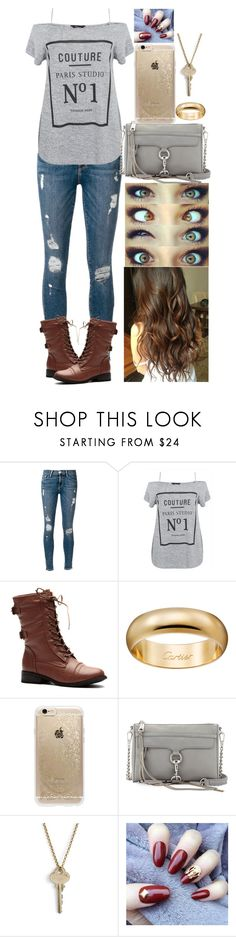 """Untitled #595"" by trustsalvatore ❤ liked on Polyvore featuring Frame, Rifle Paper Co, Rebecca Minkoff and The Giving Keys"