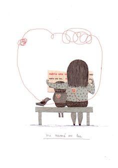https://flic.kr/p/dtQv9L | dia de la madre | Ilustración para la campaña del día de la madre 2012 de Fundación La Fuente