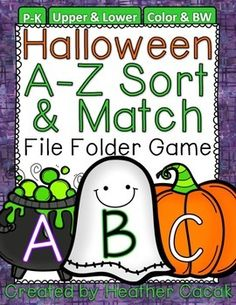chocolate chip ghost story free printable fall halloween pinterest the ojays chocolate chips and ghosts - Halloween File Folder Games