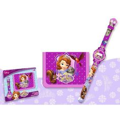 Montre numérique + portefeuille Disney Sofia du grossiste et import