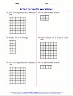 Add Subtract Multiply Divide Integers Worksheet Pdf Area Of A Rectangle Worksheet  Free Worksheets Worksheets And  Worksheets On Comprehension For Grade 1 Excel with Worksheets For Playgroup Class Area And Perimeter Worksheets Rectangles And Squares  Tons Of Free Math  Worksheets Percentage Worksheets For 5th Grade Word