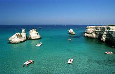 Faraglioni Torre dell'Orso Lecce Puglia    #TuscanyAgriturismoGiratola