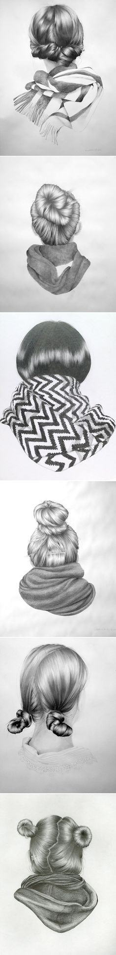 Nettie Wakefield - people who can draw such realistic hair are to be envied