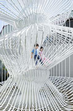 Cage by Warren Techentin.