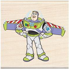 Disney Wood Mounted Rubber Stamp Toy Story Buzz Lightyear * For more information, visit image link-affiliate link. Toy Story Birthday, 3rd Birthday, Toy Story Buzz Lightyear, Disney Scrapbook, Disney Toys, Ink Pads, Projects For Kids, Sewing Crafts, Disney Characters