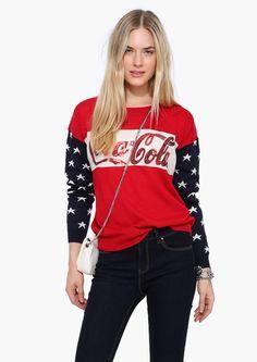 Coca Cola Long Sleeve Sweater