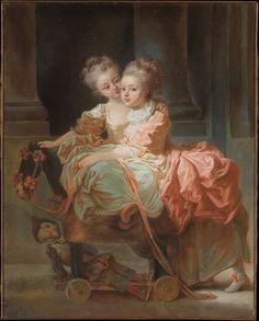 J.B.C. Richard  Deux soeurs 1770  NY