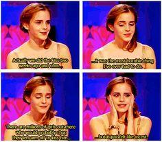 Poor Emma Watson... Hahaha
