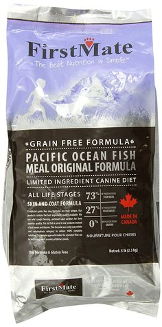 FirstMate Pet Foods Pacific Ocean Fish Original, 5 Pound *** See this awesome image  : Dog Food