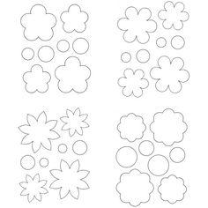 pdf modeles fleurs papier