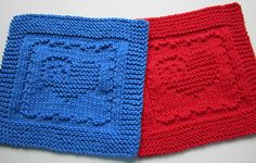 Ravelry: Heart Flag Cloth pattern by Elaine Fitzpatrick