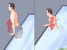 How to Use Water Exercises for Back Pain. Regular exercise can help treat back pain, though people who suffer from back pain should choose low-impact exercises that don't increase stress on the spinal vertebrae or other joints. Water is a. Water Aerobics Routine, Back Pain Exercises, Pool Exercises, Stretching Exercises, Stretches, Pool Activities, Ab Day, Cycling Workout, Bike Workouts