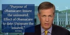 Brit Hume on the Paradox of Obamacare