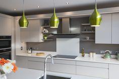 Enigma Design » Contemporary Flat Panel Finger Groove Kitchen Modern Bar, Kitchen Modern, Kitchen Ideas, Kitchen Decor, Galley Kitchen Design, Contemporary Kitchens, Cuisines Design, Design Moderne, Küchen Design