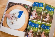 Domestic Fashionista: The Story Of You: First Year Baby Book Photobook First Year Baby Book, Babies First Year, Baby Photo Books, Baby Books, Baby Album, Baby Scrapbook, Vintage Photography, Master Class, How To Take Photos