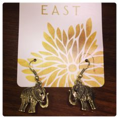Stylish Collection at EAST High Street Kensington Store Elephant Earrings, Pendant Necklace, Stylish, Collection, Jewelry, Jewlery, Jewerly, Schmuck, Jewels