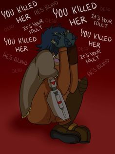 We all know he would blame himself. If only he hadn't trusted Maul... He thinks it's all his fault...