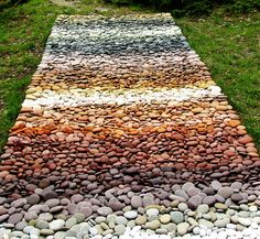 stones, colors, natures carpet, mosaic