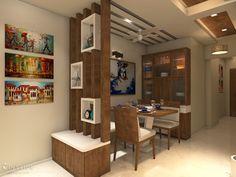 Interior Home Design Trends For 2020 - New ideas Wooden Partition Design, Living Room Partition Design, Wooden Partitions, Living Room Tv Unit Designs, Pooja Room Door Design, Room Partition Designs, Kitchen Room Design, Home Room Design, Home Interior Design