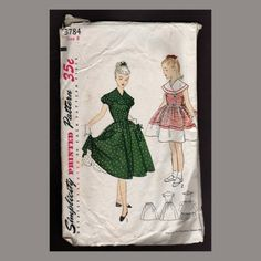 Back to the Fifties Vintage Simplicity Pattern  by AtticEmporium