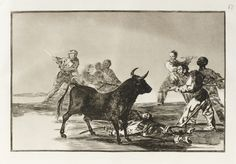 goya, francisco de la tauromaquia ||| prints ||| sotheby's l17160lot9d2f9en