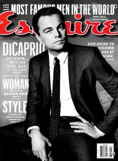 Leonardo DiCaprio : un homme, un vrai pour Esquire