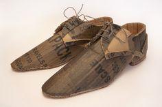 Dark cardboard smart shoes | Flickr - Photo Sharing!