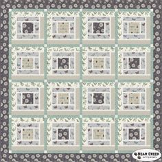 Botanist Free Quilt Pattern by Lewis and Irene Fabrics