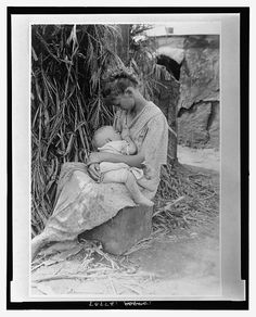 Breastfeeding (in public!) c. 1916... Before breastfeeding laws, there was simply breastfeeding logic. Can we get back to that, please?