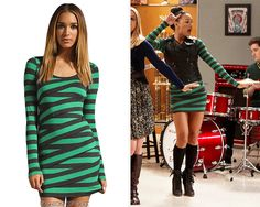 fashionofglee:    Bailey 44 Hop on Pop Dress - $117.00 (on sale!, pink)  Worn with: Steve Madden boots