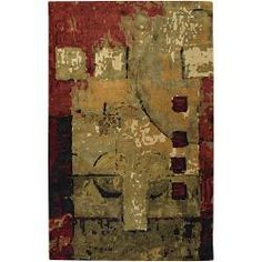 @Overstock - High-quality construction highlights this area rug, hand-tufted in India using premium New Zealand wool. This rug features an abstract design in shades of gold, green, brown, burgundy, black and beige.http://www.overstock.com/Home-Garden/Hand-tufted-Mandara-Multi-New-Zealand-Wool-Rug-79-x-106/5501164/product.html?CID=214117 $434.69