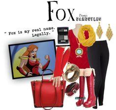 """""""Fox"""" by unusualsidekick on Polyvore"""