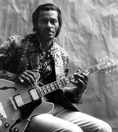 Chuck Berry in a publicity photograph from 1972.