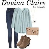 Image result for Davina Claire Outfits