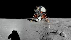 Apollo 11 First man on the moon / interactive panoramas, with audio! / via dino