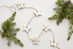 Quick and Easy DIY Star Christmas Tree Garland