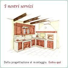progetto cucina in muratura 3d - Cerca con Google | Ideas for a ...