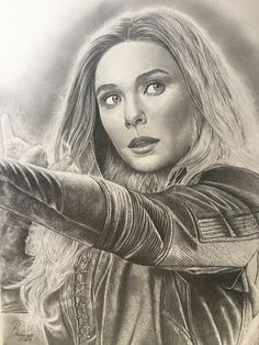 Avengers Drawings, Avengers Art, Realistic Sketch, Realistic Pencil Drawings, Captain America Coloring Pages, Superhero Sketches, Girl Drawing Sketches, Portrait Sketches, Witch Drawing