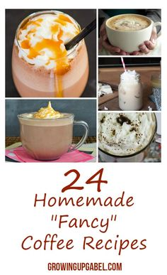 Skip the expensive coffee shop and make these coffee recipes at home!