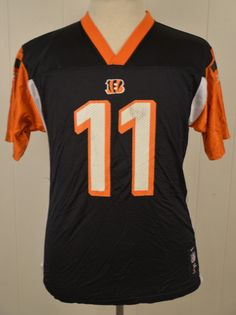 Nike Cincinnati Bengals NFL Jersey A.J. Green  18 Black Orange Youth XL (18  20)  ed98df310